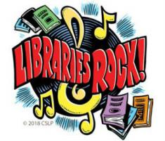 Summer Library Program - Libraries Rock!